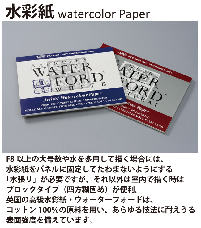 WATERFORD ウォーターフォード水彩紙