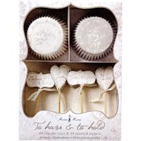 MeriMeri To Have And To Hold Cupcake Kit