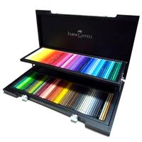 Faber-Castell ポリクロモス色鉛筆 120色セット (木箱入) 【期間限定 新生活&入学お祝いキャンペーンセール対象商品】