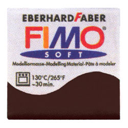 FIMO フィモ ソフト(56g) チョコレート 8020-75 【ウィンターセール 対象商品】