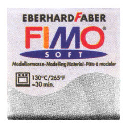 FIMO フィモ エフェクト 56g メタリックシルバー 8020-812