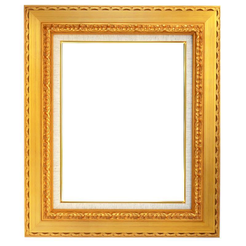 油彩額 999-G ゴールド M10 アクリル付き | ゆめ画材