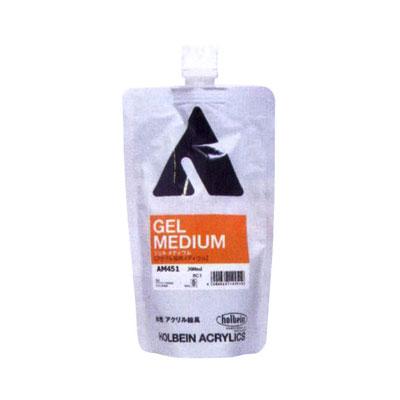 ホルベイン アクリリック ジェルメディウム スタンドパック 300ml