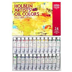 ホルベイン 専門家用 油絵具 4号 24色セット