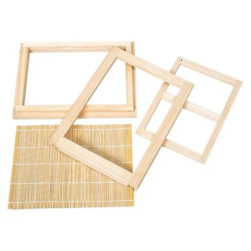紙すき木枠 2点セット B5・はがき判